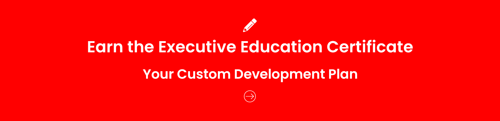 Executive Education Certificate